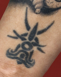tribal tattoos on wrist