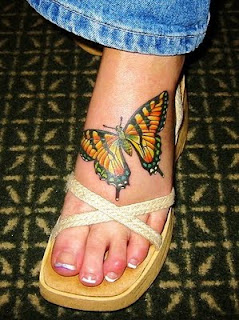 tattoos on foot for women