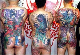 yakuzza japan gangsta tattoos design