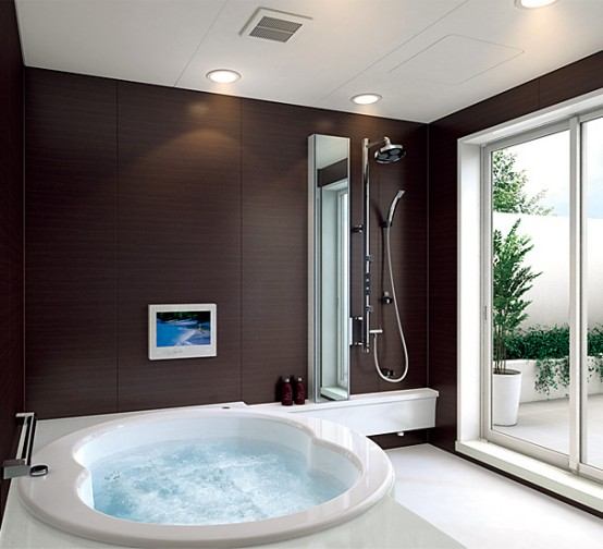Interior decorating modern small bathroom design ideas for Small modern bathroom designs 2012