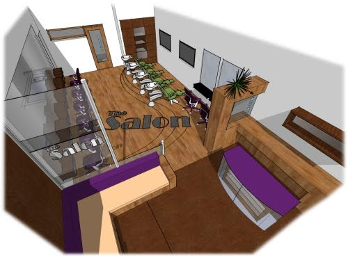 Kitchen Layout and Decorating Ideas: Salon Decorating Ideas