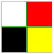 Bandera de los 4 rumbos