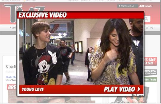 selena gomez dating history. Justin Bieber and Selena Gomez