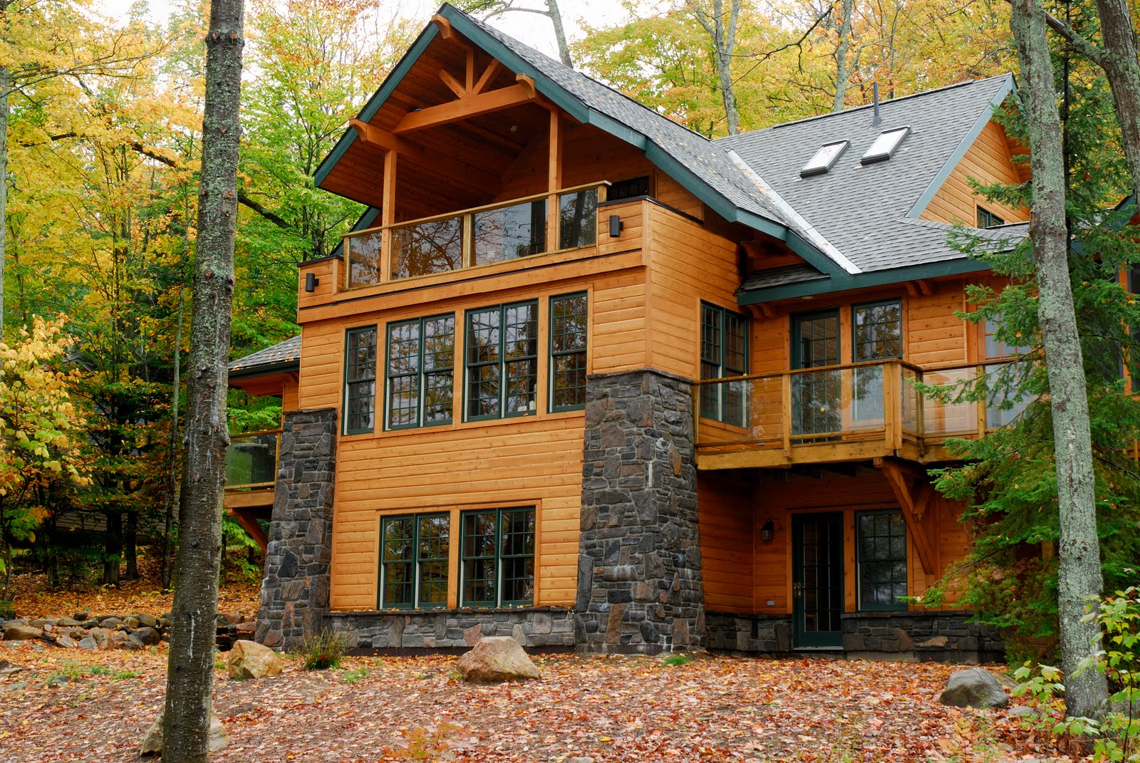 Mountain creations log timber homes for Mountain cabin homes