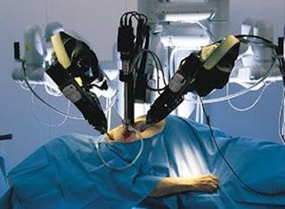 medical robot, three hand robot