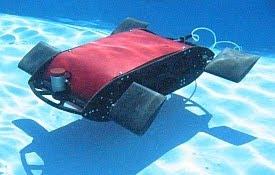 robot underwater, robot waterproof, robot air