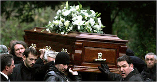 first aid, funeral rip, funeral casket