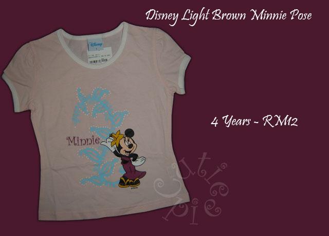 Disney Light Brown Minnie Pose