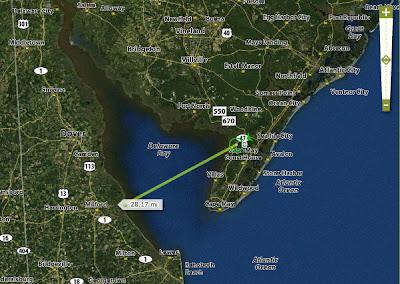 Delaware Bay map