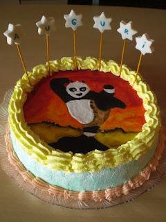 torta panda