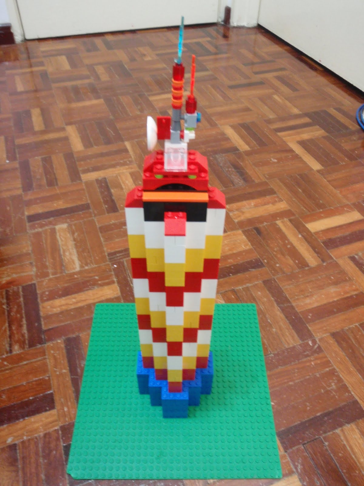 how to build a lego cn tower