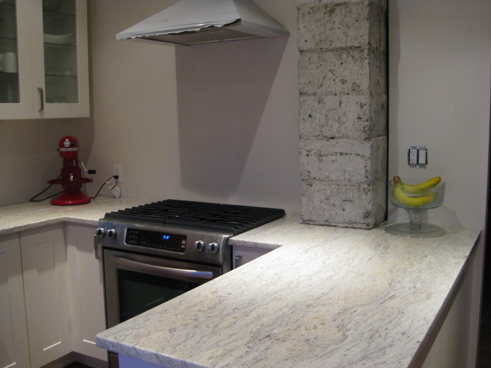 Kitchen Countertops Without Backsplash Adventures At 1628 Kitchen Part Iii