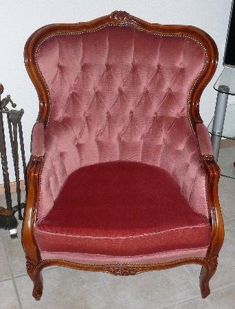 salon style louis XV