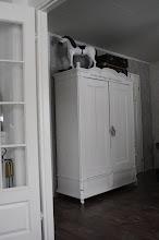 Klädskåp i sovrummet