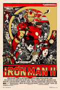 tyler stout's Iron Man poster. long gone and sold out immediatelybut did .