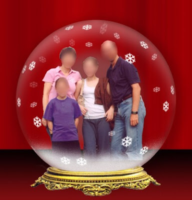 photoshop snowglobe
