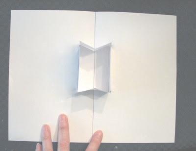 open box pop up card