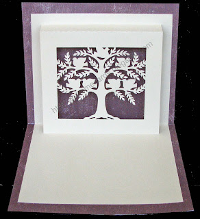tree pop up card