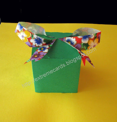 present pop up card