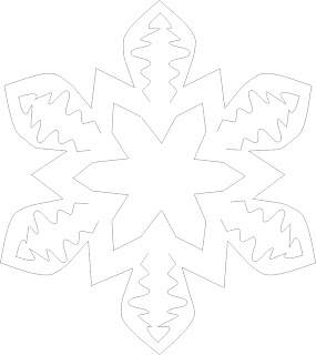 Free patterns and images of paper snowflakes by D.C. Stredulinsky