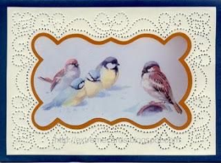 paper piercing card