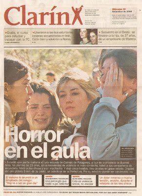 Tragedia en Carmen de Patagones, septiembre 2004