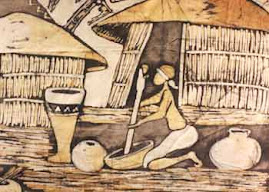 Uma pouquinho do artesanato de Moçambique