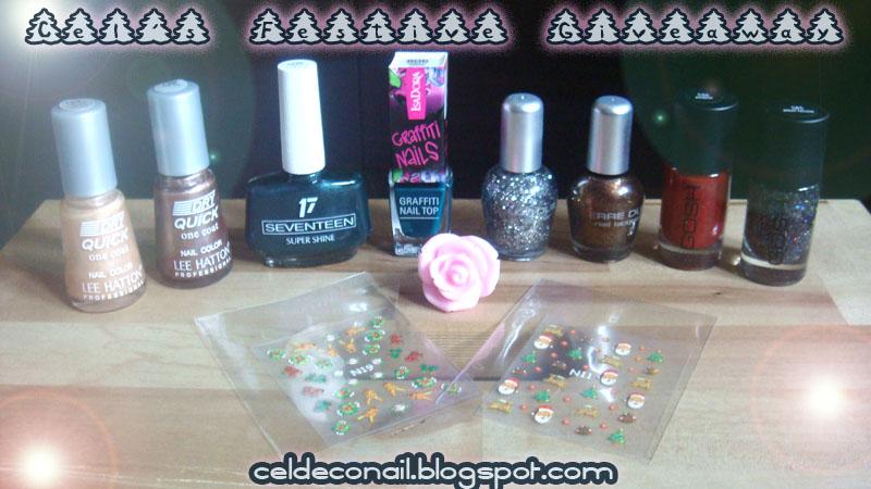 Cel's Nail polish giveaway!!!