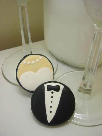 Decoración de galletas para novios : cositasconmesh