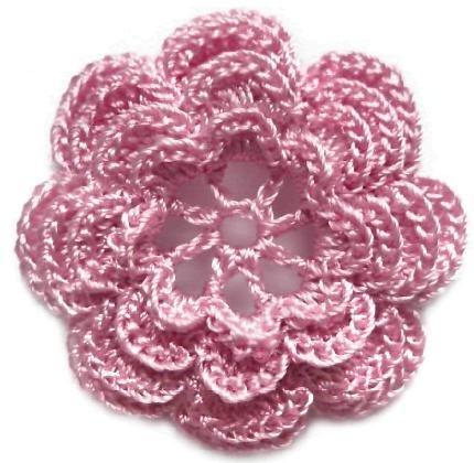 Flores a crochet con patrones : cositasconmesh