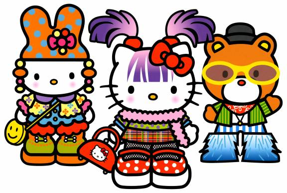 Hello Kitty Dream Carnival — Ferris Wheel Friends