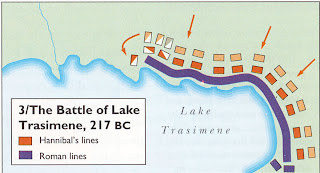 Musings on the Muse: Re-enactment of the Battle of Lake ...