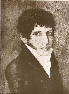 'Mariano Moreno, prócer argentino'(¿1808?),de Juan de Dios Rivera (1760-1843),publicado en 'Historia Argentina' de Diego Abad de Santillán,extraído de wikimedia.org
