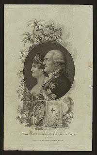 'King Charles IV and Queen Louisa Maria of Spain', de la colección de grabados, impresos y fotos de Miriam e Ira D. Wallach, tomada de www.nypl.org