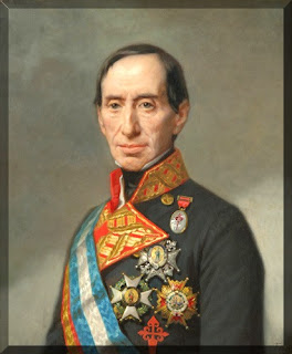 'Teniente General José Manuel de Goyeneche y Barreda. Primer Conde de Guaqui', obra de Federico de Madrazo, c.1860. Tomada de wikipedia