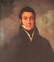 'José Francisco de San Martín', de Francois Joseph Navez (1824), Museo Histório Nacional. Tomado de wikimedia
