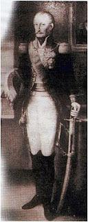 Vizconde Carlos Federico Lecor, primer Barón de Laguna, Brasil.