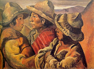 'Tres indios'