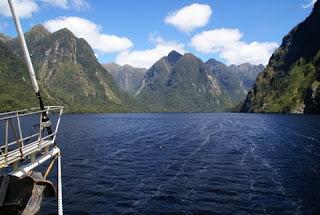 De crucero por el Doubtful Sound