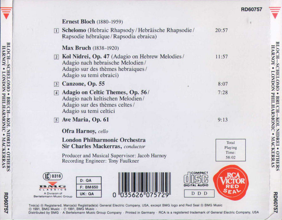 Max Bruch Complete Symphonies MP3