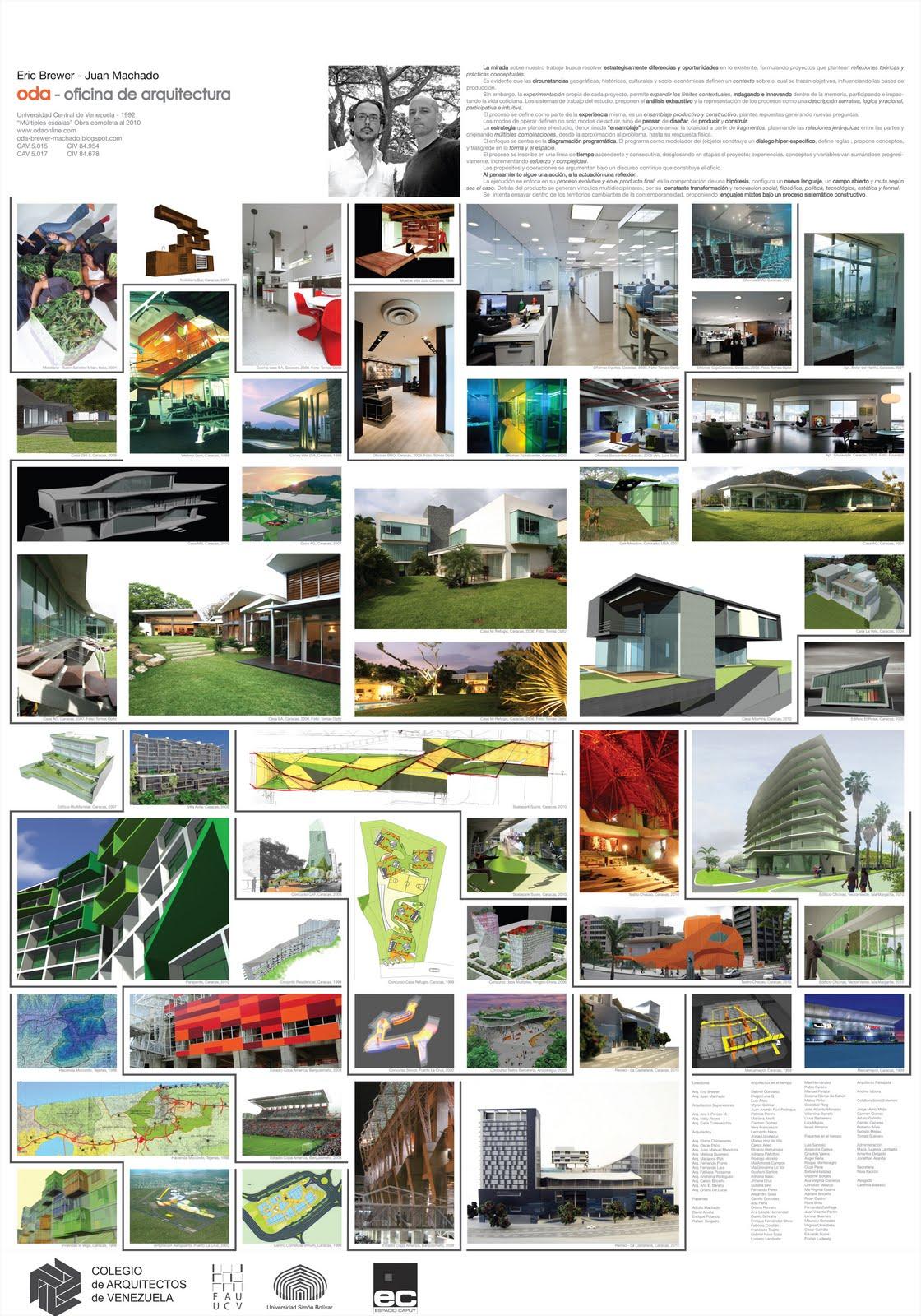 Oda oficina de arquitectura multiples escalas 2010 for Oficinas de arquitectura