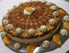Joghurtos - mandarinos torta