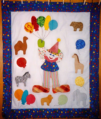 """Quilts for Kids mini quilt for her little stuffed """"lambie"""" who provided the"""