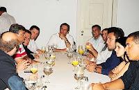 Reunião com prefeitos do Entorno