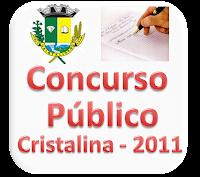 Concurso público da prefeitura de Cristalina é anulado