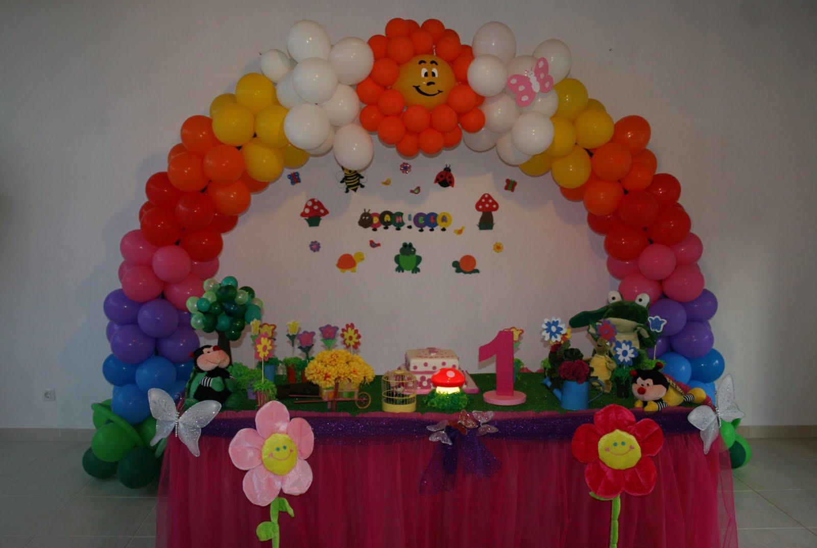 de Festas e Organização de Eventos Decoração Jardim Encantado