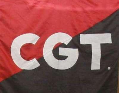 CGT (Confederación General del Trabajo) CGT+BANDERA