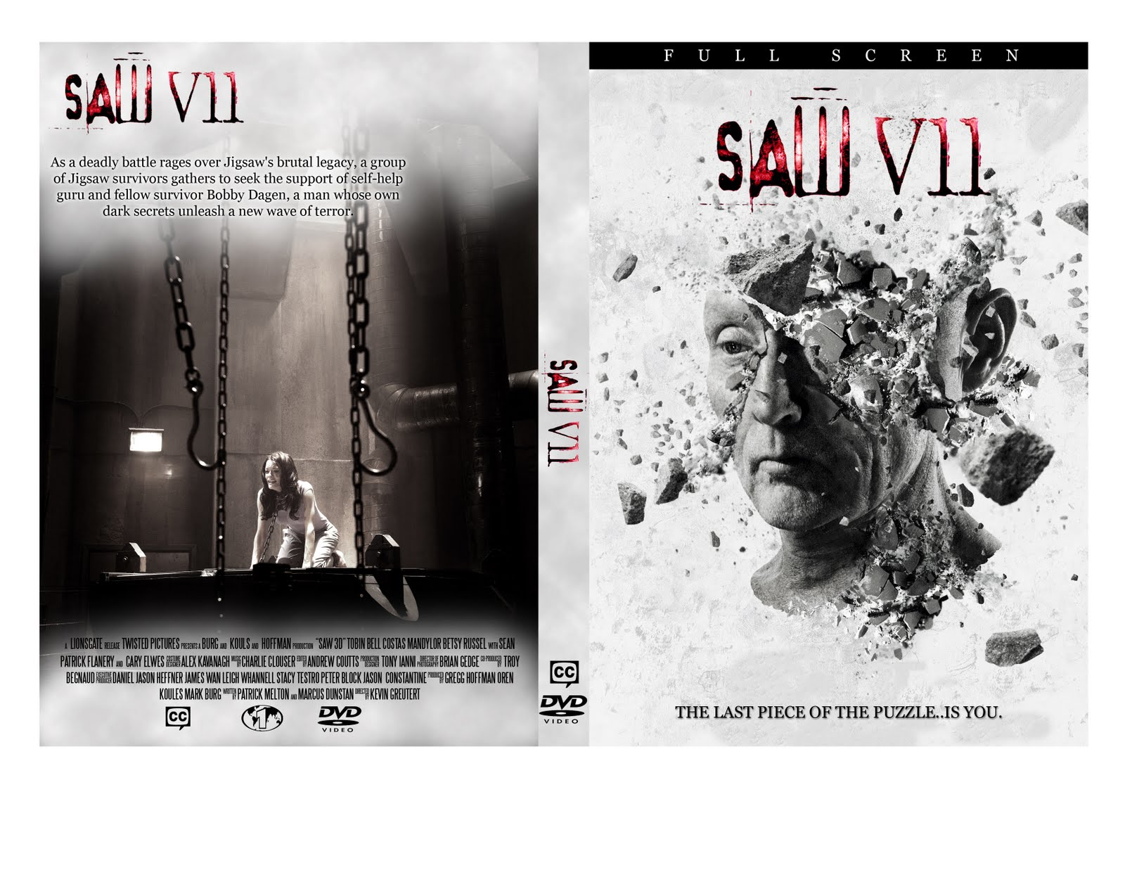 WWLTP Inc.: DVD Cover. Saw 5 Dvd Cover