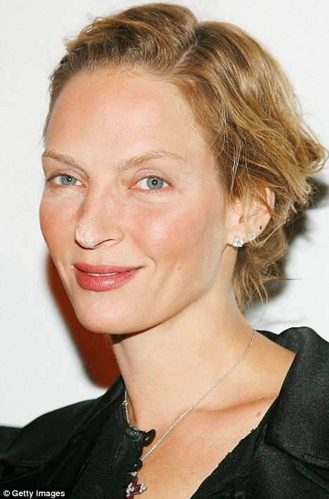 Uma thurman naked Nude Photos 31