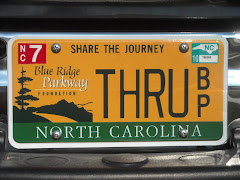 My New Blue Ridge Parkway Foundation License Tag